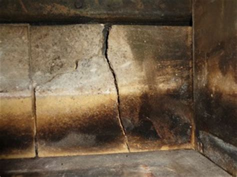 Fireplace Firebrick Replacement by When To Replace Bricks Swept Away Chimney Sweep