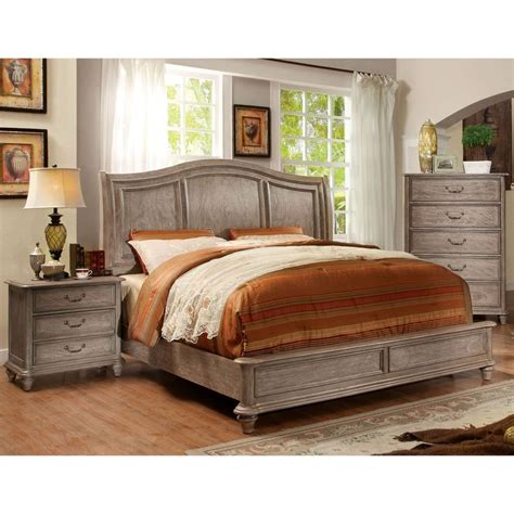 furniture of america minka iii rustic grey 3 piece bedroom 17 best ideas about rustic grey bedroom on pinterest