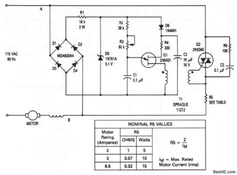 induction motor speed using triac speed controller for single phase motor carspart