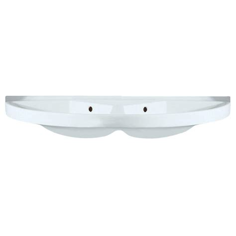 whitehaus collection china series large u shaped wall