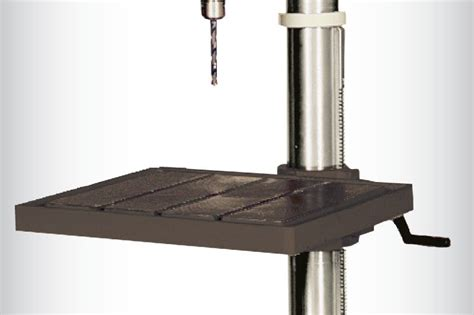 replacement drill press table jet j 2500 15 inch 3 4 horsepower 115 volt floor model
