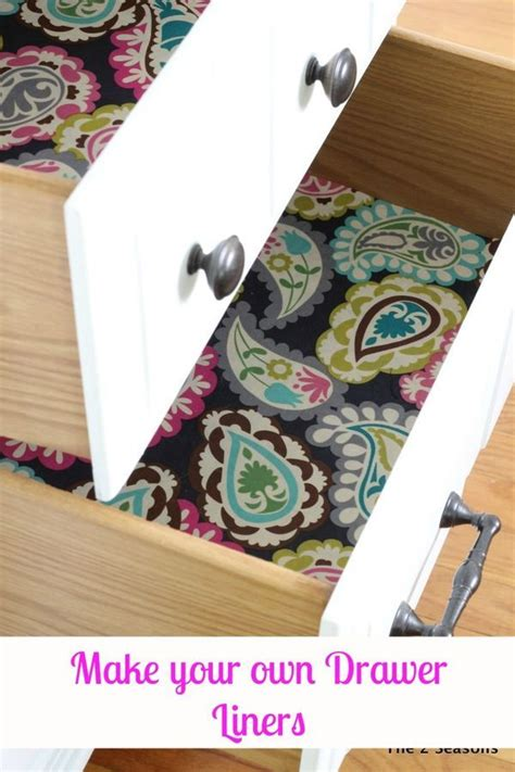 making drawer liners from fabric good on how to make your own diy drawer liners