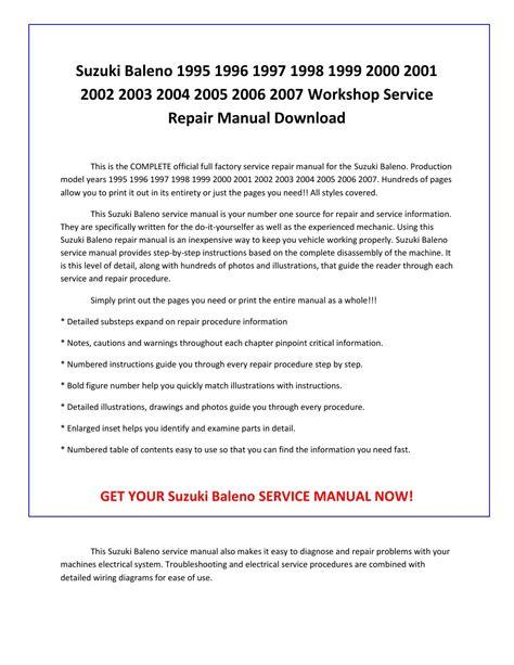 free service manuals online 2002 suzuki esteem free book repair manuals 1997 suzuki esteem workshop manual free download 1997 suzuki esteem workshop manual free