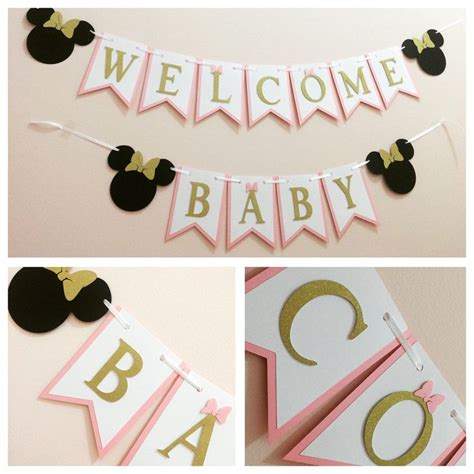 Baby Shower Minnie Mouse Ideas by Best 25 Minnie Mouse Baby Shower Ideas On