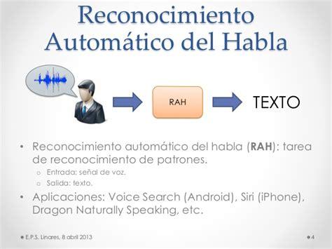 naturally speaking for android modelos probabil 237 sticos aplicaci 243 n al reconocimiento autom 225 tico