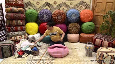 How To Stuff A Pouf Ottoman how stuff moroccan ottoman pouf pouf guide