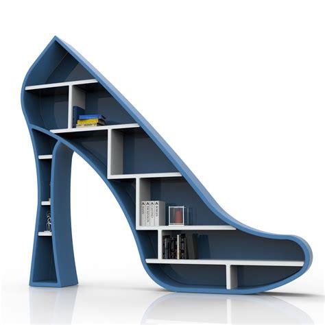 lade di design libreria scarpa col tacco design moderno 190 x 170 cm