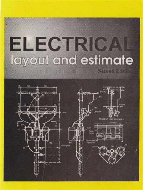 electrical layout book electrical layout and estimate 2nd edition by max b