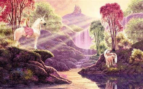 imagenes de unicornios magicos cuadros modernos pinturas y dibujos m 225 gicos paisajes de