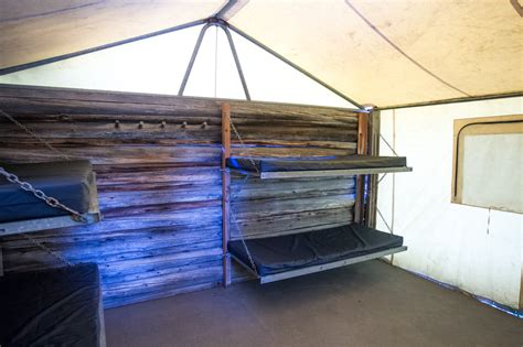 Colter Bay Tent Cabins by Colter Bay