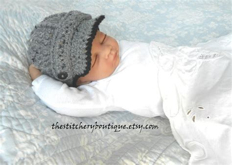 items similar to baby boy hat newsboy hat photo prop hat