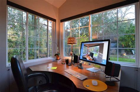 Shed Office by To Business With This Backyard Office Tuff Shed