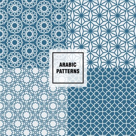 design pattern graphic editor arabic pattern design vector free download