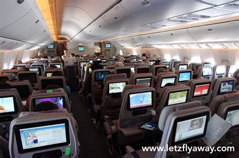 boeing 777 300er cabin emirates economy class flight review