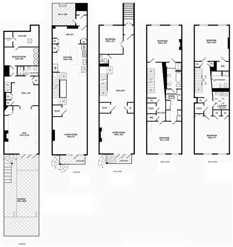 100  [ Multi Unit Floor Plans ]   Prairie Court,Residences