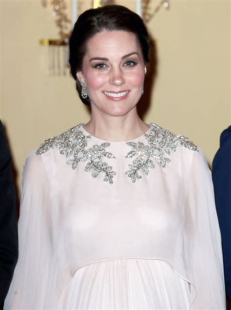Kate Middleton Is a Goddess in Blush Gown From Alexander McQueen   PEOPLE.com