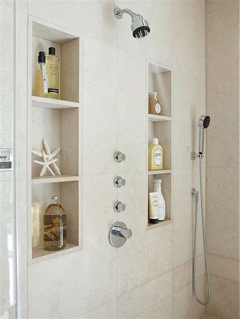 How To Build A Shelf In A Shower by Best 25 Shower Shelves Ideas On Shower