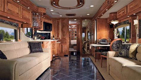 trailer homes interior 2008 beaver marquis class a motorhome travelizmo