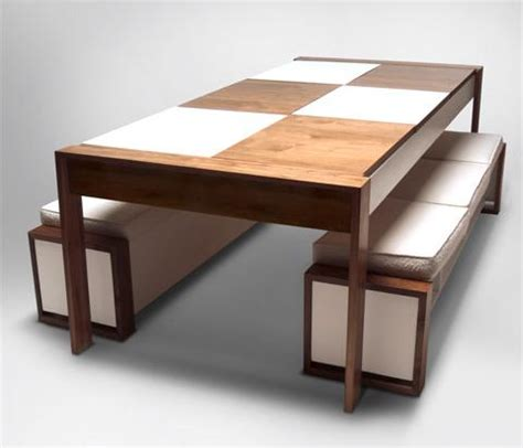 Modern Dining Table Bench Table Bench Seat Treenovation