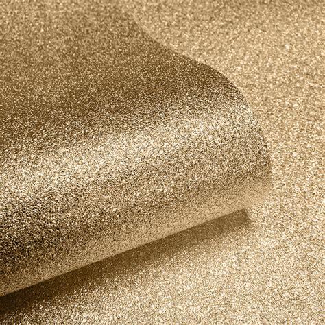 gold and wallpaper uk muriva sparkle plain gold glitter wallpaper 701354