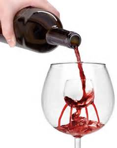 oxygenate your wine with a cool looking glass home design