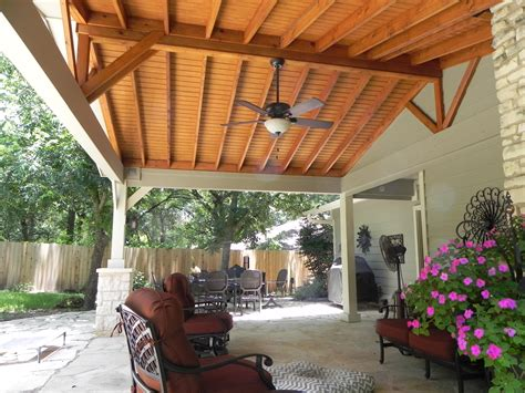 backyard porch austin decks pergolas covered patios porches more