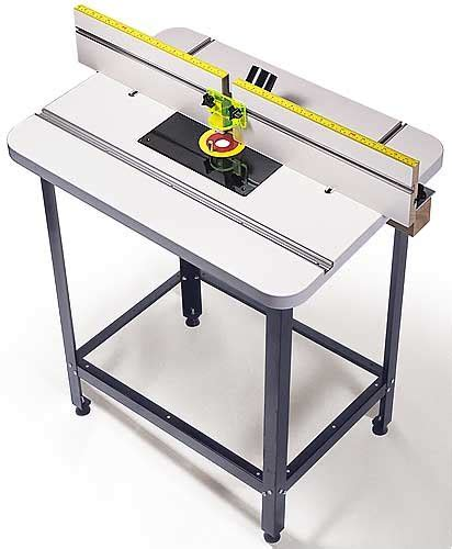 mlcs woodworking router table top  fence  phenolic
