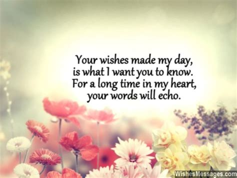 I Wanna Wanna Wish You A Happy Birthday Thank You Messages For Birthday Wishes Quotes And Notes