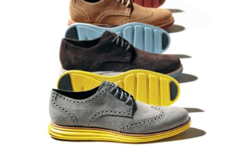 Dress Shoe Athletic Sole by Complex Exclusive Cole Haan Borrows Nike Technology For The Lunargrand Wingtip Complex