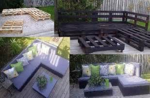 Patio On A Pallet Crafty Ideas Pallet Patio Furniture Dump A Day