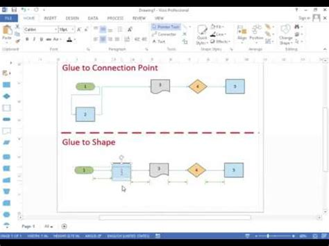 visio connection point tool understanding visio s glue to shape vs glue to connection