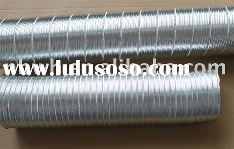 Aluminium Selang Duct Ducting Exhaust Fan Ventilating rectangular ventilation ducting rectangular ventilation