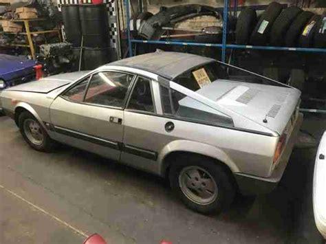 Lancia 1977 Beta Montecarlo Silver Spares Or Repair Car