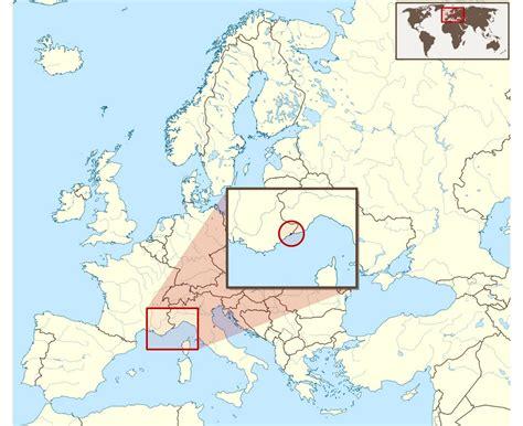 monaco europe map monaco map europe