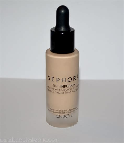 Sephora Foundation Indonesia teint infusion ethereal finish foundation