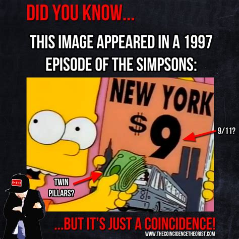 the simpsons 911 predict 9 11 predicted in the simpsons the coincidence theorist