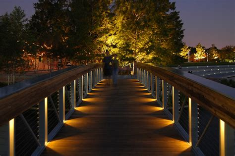 Lights In Hermann Park by Hermann Park Lake Plaza Lam Partners Architectural