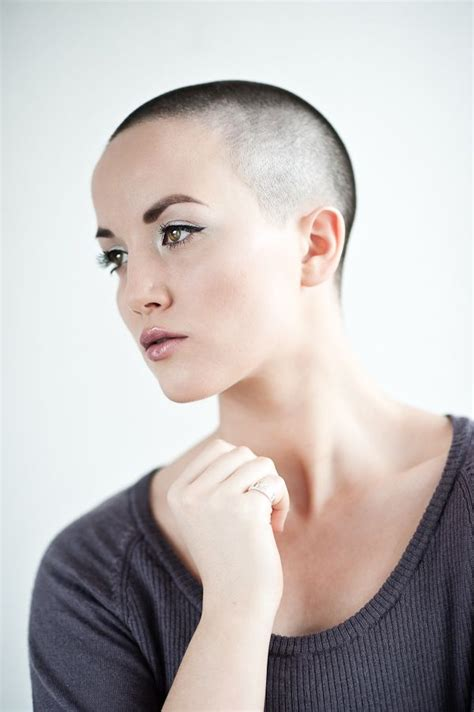 very beautiful headshave girls 17 best images about bald is beautiful on pinterest cate