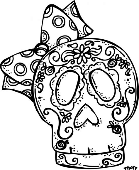 dia de los muertos coloring pages coloring home