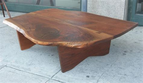 nakashima woodworking walnut coffee table by nakashima woodworker gino russo at