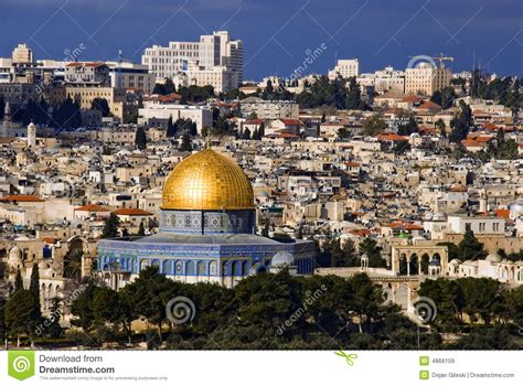 imagenes reales de jerusalen la ciudad santa jerusal 233 n imagen de archivo imagen de