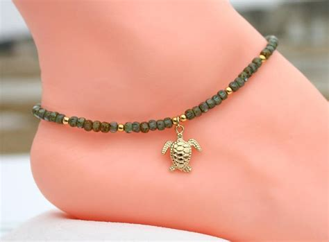 Bead Anklet 396 best bracelet anklet choker images on