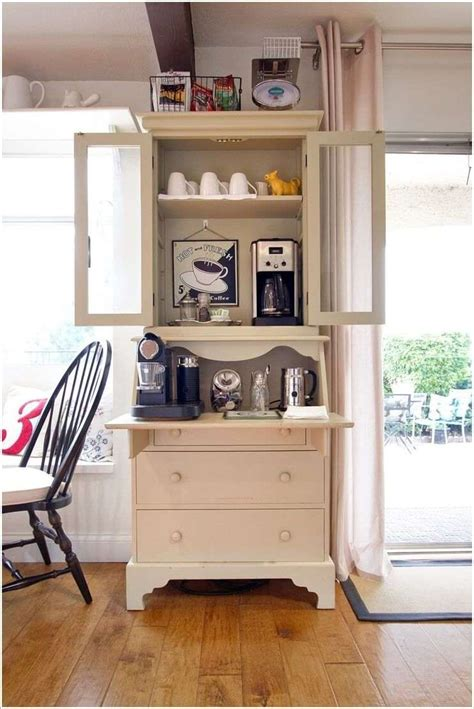 Coffee Hutch 10 Cool Ideas To Set Up A Home Coffee Station