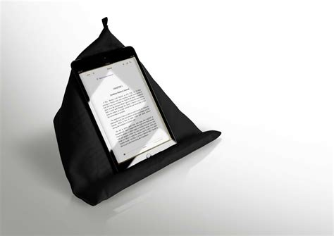 tablet pillow stand pillow kindle or ebook holder tablet cushion