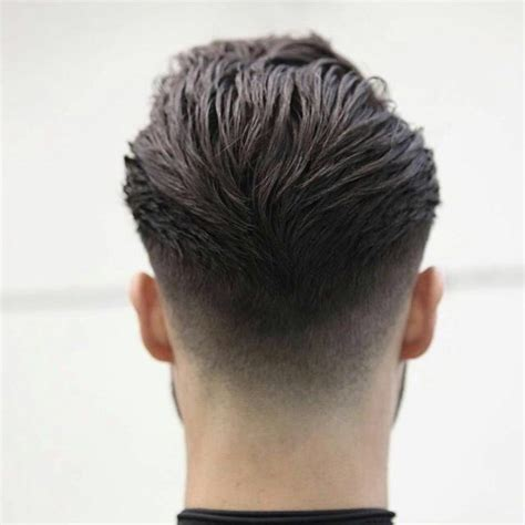 view from back of pompadour hair style pompadour hairstyle back view hair