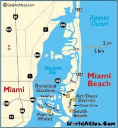 Miami South Beach Map by Miami Beach Map South Beach Miami Clubs Nightlife Art
