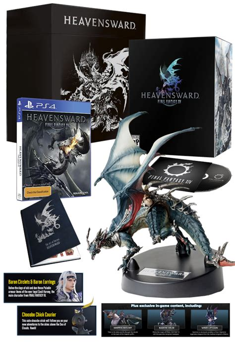Kaset Ps4 Xiv The Complete Edition xiv heavensward collector s edition ps4 buy now at mighty ape nz