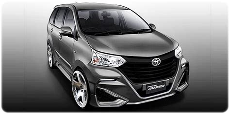 Lu Kabut Grand New Avanza gambar modifikasi grand new avanza karya desainer