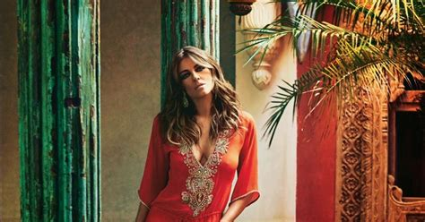 Elizabeth Hurley In Hello Magazine And Also Another Wedding Dress by Elizabeth Hurley Hello Magazine Uk May 2014 Desifunblog