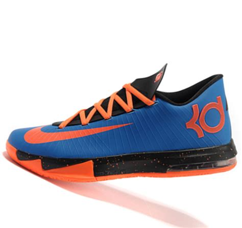 kevin durant boys basketball shoes nike kd6 black orange kevin durant basketball shoes